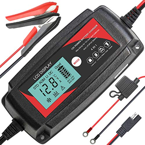 ECO-WORTHY 5Amp 12V Automatic Smart Battery Charger