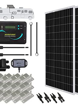 Renogy 300 Watts 12 Volts Monocrystalline Solar RV Kit