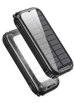 Tranmix Solar Charger 30000mAh High Capacity