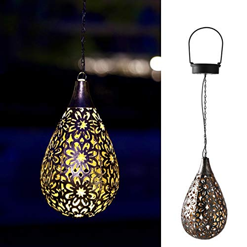 Hanging Solar Lantern Lights Outdoor Decorative