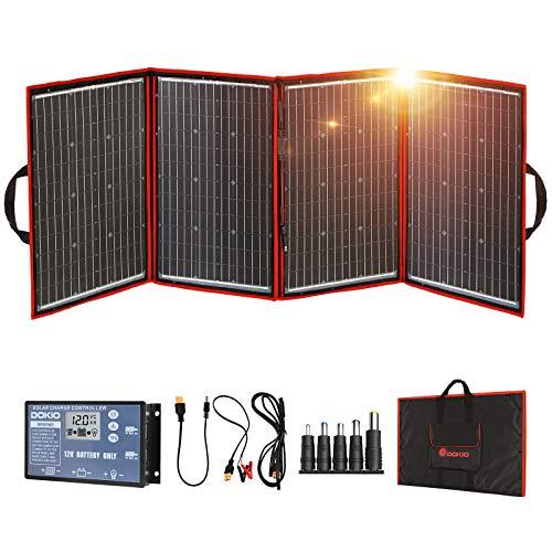 DOKIO 220 Watts Foldable Solar Panel Monocrystalline