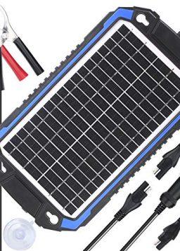 SUNER POWER 12V Solar Car Battery Charger, Maintainer