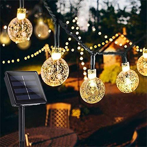 Garden Solar Lights, 50 LED 24ft 8 Modes Waterproof