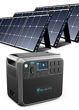 BLUETTI AC200P Portable Power Station with Solar Panel