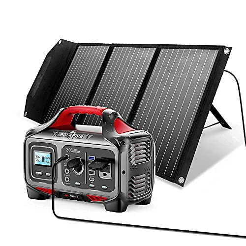 ROCKPALS 300W Portable Power Station and ROCKPALS 60W