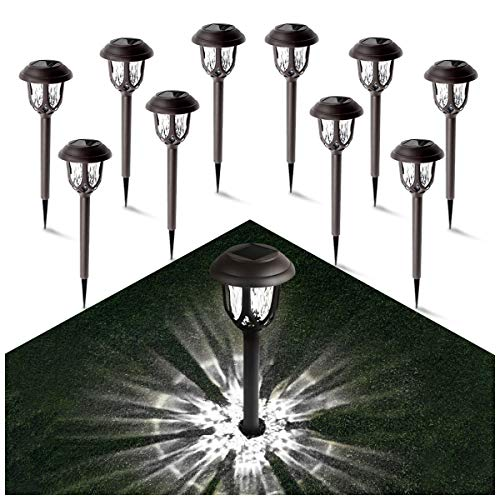 Solar Lights Outdoor Decorative - Gichies Solar Pathway Lights
