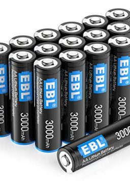 3000mAh 1.5V Lithium AA Batteries High Performance