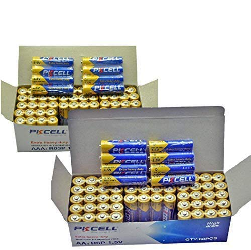 AA/AAA Heavy Duty Battery 60 Zinc