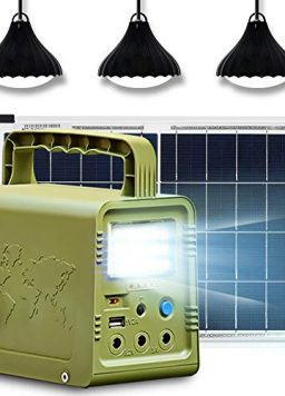 ECO-WORTHY 84Wh Solar Generator Lighting with Panels