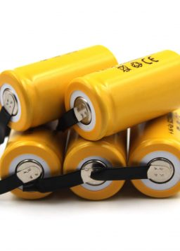(5-Pack) 1.2V 2300mAh Sub-C Cell Ni-CD Rechargeable Batteries