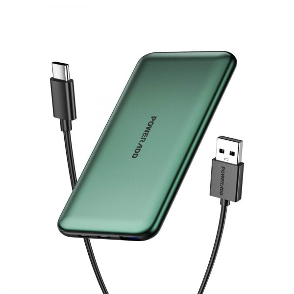 USB-C 20W PD 3.0 Power Bank with QC 18W Fast Charging Battery Pack