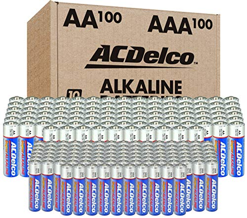 ACDelco AA and AAA 200-Count Combo Pack