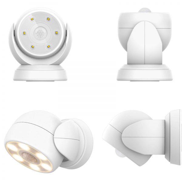 HONWELL Motion Sensor Light Outdoor