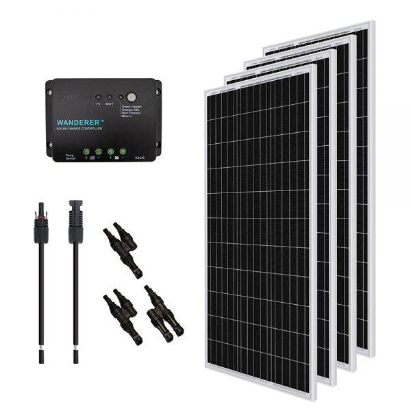 Renogy 400 Watt 12 Volt Monocrystalline Solar Panel