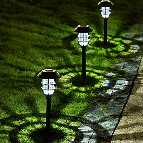 Solpex 8 Pack Solar Pathway Lights Outdoor