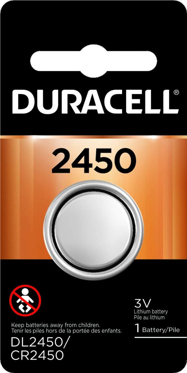 Duracell - 2450 3V Lithium Coin Battery