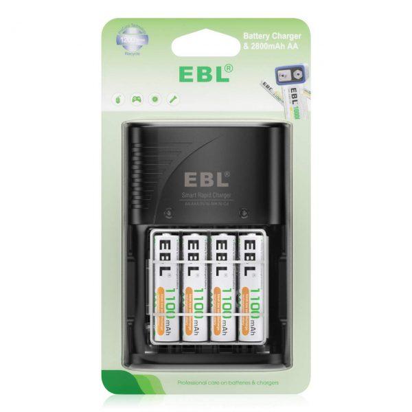 Wall Plug for AA AAA 9V Ni-MH Ni-CD Rechargeable Batteries