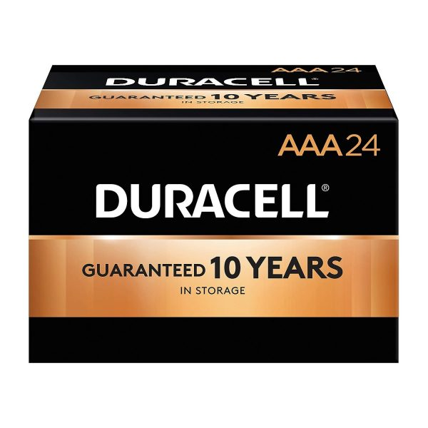 Duracell Coppertop AAA Alkaline Batteries