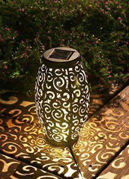 Esgarden Solar Light Outdoor Hanging Solar Lantern