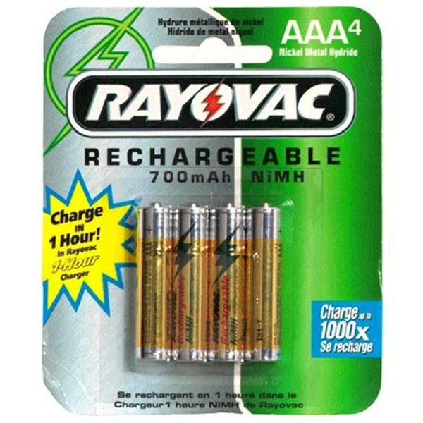 Rayovac Rechargeable NiMH Batteries