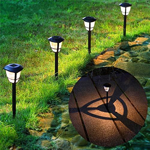 MAGGIFT 12 Pack Solar Powered Landscape Lights Outdoor