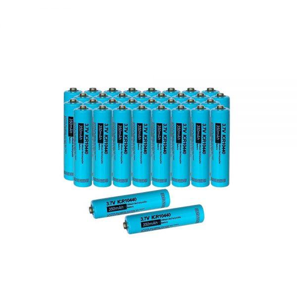AAA 350mAh 3.7V Li-ion Rechargeable Battery