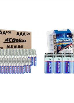 AA and AAA 200-Count Combo Power Super Alkaline Battery