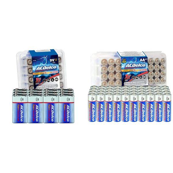 ACDelco 12-Count 9 Volt Batteries