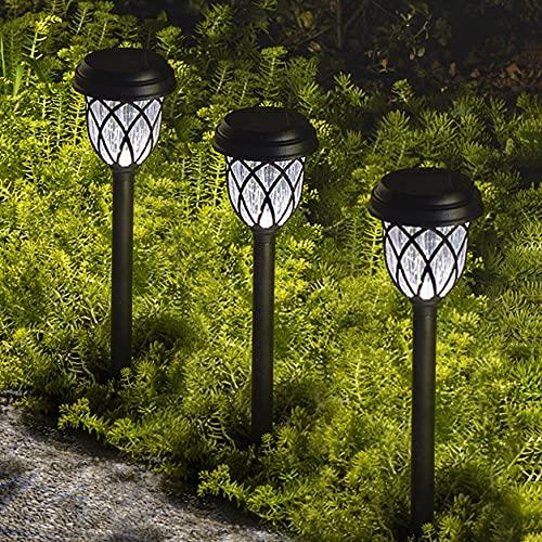 ExcMark 10 Pack Solar Lights Outdoor Garden