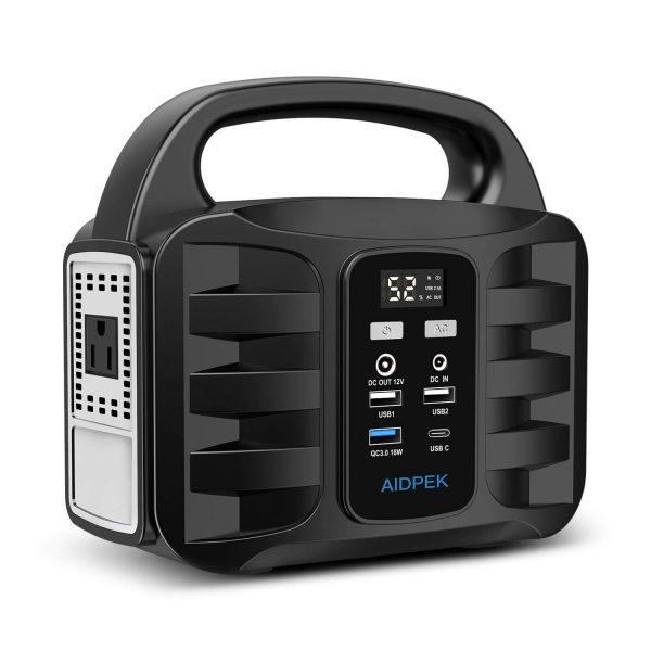 AIDPEK 100W Portable Power Station