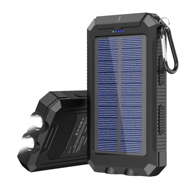 Solar Charger 20000 mAh Portable Solar Power Bank