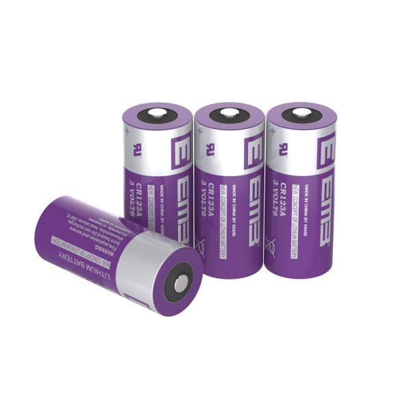 CR123A 500mAh CR123 Battery with High Capacity