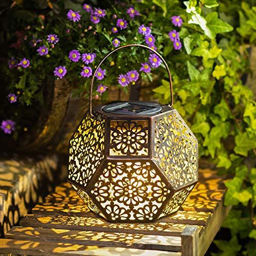 Solar Lantern Hanging Garden Outdoor Lights
