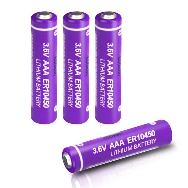 Battery AAA Lithium Battery 3.6V 800mAh