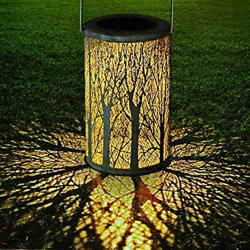 Philonext Solar Lantern Lights, Outdoor Hanging Lantern