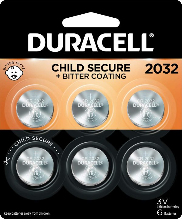Duracell 2032 Lithium Coin Battery 3V