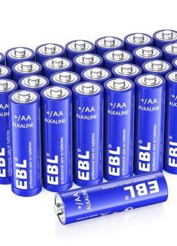 AA Batteries 1.5V Double A Long Lasting Alkaline EBL