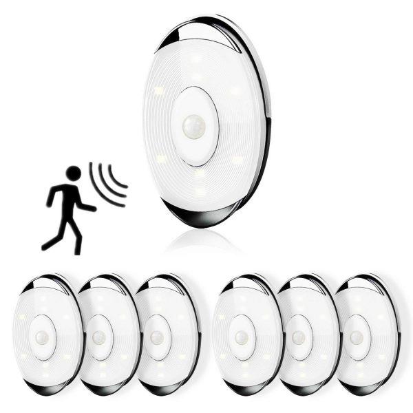 Wireless Closet Light Motion Sensor Night Light Battery