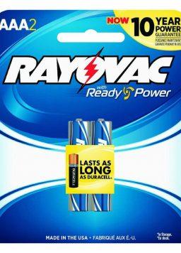 1.5 volts AAA Alkaline Batteries