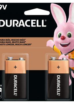 Duracell 9V Alkaline Batteries 9 Volt battery for household and business