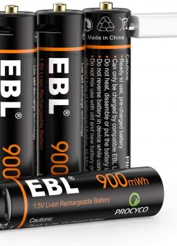 1.5VAAA Rechargeable Batteries with 4 in 1 USB Cable