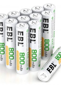 Rechargeable AAA Batteries Home Basic 800mAh