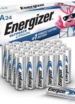 Energizer AA Lithium Batteries Longest Lasting