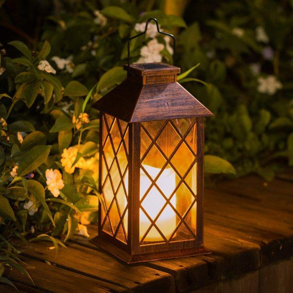 TAKE ME Solar Lantern,Outdoor Garden Hanging Lantern