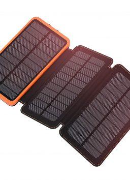 Solar Charger 24000mAh FEELLE Portable Solar Power Bank