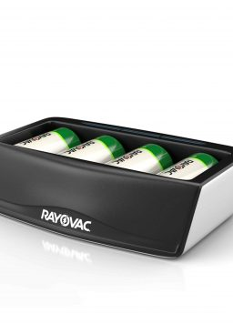 Rayovac Universal Battery Charger for Rechargeable Batteries