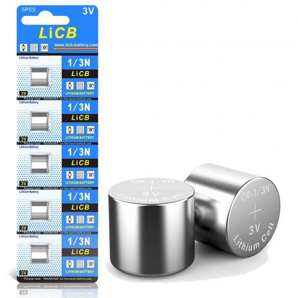 LiCB CR1/3N Battery 3V Lithium 1/3N Batteries