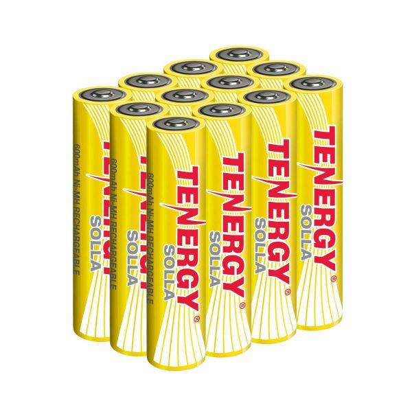 Tenergy Solla AAA Rechargeable NiMH Battery