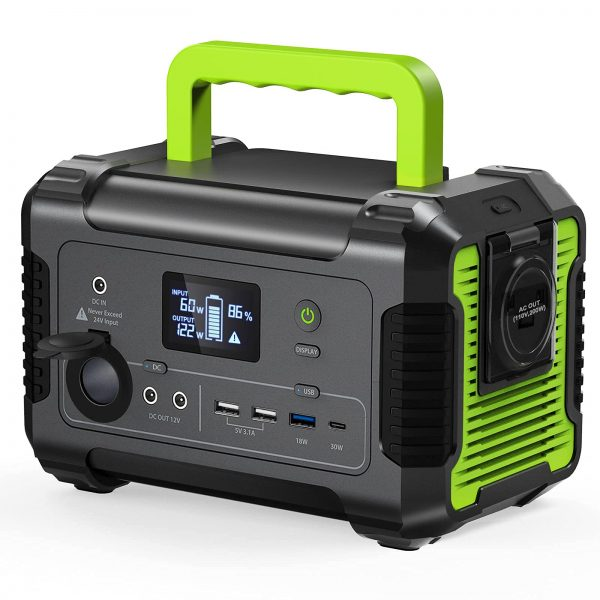 PAXCESS Portable Power Station 200W, 230Wh/62400mAh