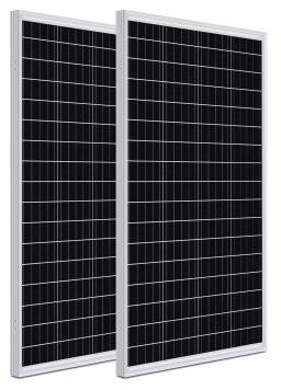 WEIZE 200 Watt 12 Volt Monocrystalline Solar Panel